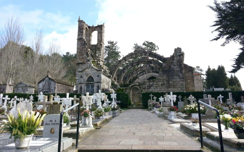 Ruinas de Santa Mariña Cambados